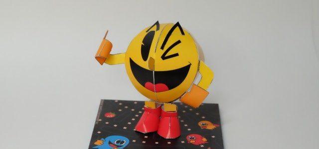 往年のナムコキャラクターのペーパークラフトが無料でダウンロードできる!【ブラザー/プリントテラス】