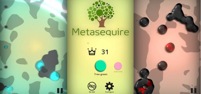 スワイプ操作で森を浄化するアクションゲーム『Metasequire』がリリース