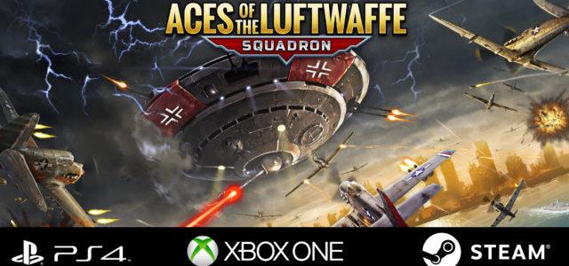 「エース・オブ・ルフトバッフェ -スクアドロン-」が PS4、Xbox One、Steamで発売開始