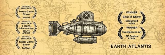 ノスタルジック海洋シューター「Earth Atlantis」iOS版が好評配信中