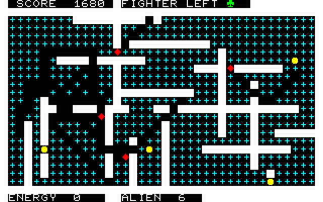 PC-8001移植版画面(2)