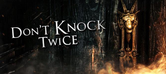 ホラーアドベンチャーゲーム「Don't Knock Twice」がニンテンドースイッチで発売決定
