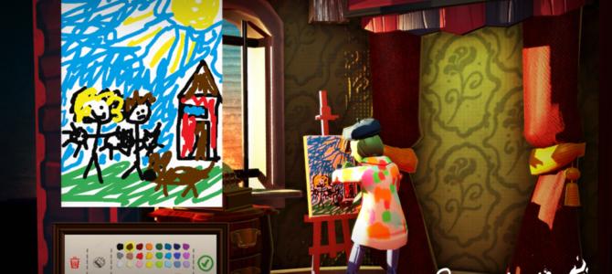 絵を描いてストーリーを進める「パスパルトゥー:アーティストの描いた夢」が日本上陸