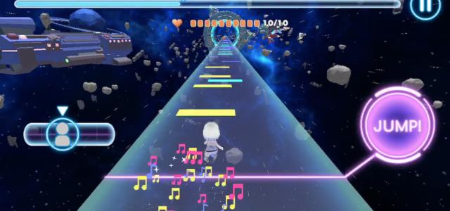 アーティスト支援×リズムアクションゲーム「Leaping Destiny」がApp Storeで登場