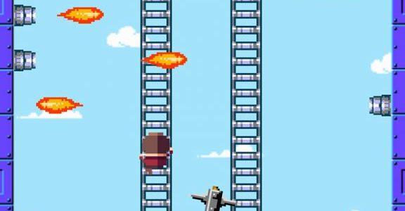 ひたすらはしごを登るアクションゲーム「はしごクライマー」がiOSで登場