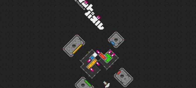 ブロックが推進力を持つパズルゲーム「ロケットパズル」がTGS2019で出展決定