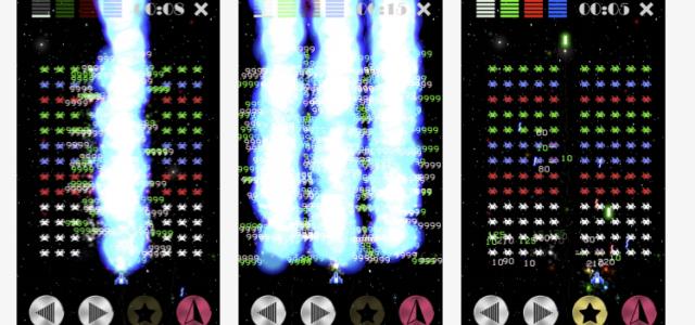 戦略系ストレス発散インベーダーゲーム「カラーインベーダー」がスマホゲームで登場
